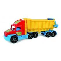 kiepwagen XXL 75 cm met gele bak