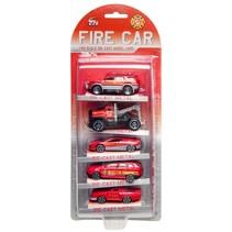 brandweervoertuigen 5 stuks o.a. brandweerjeep
