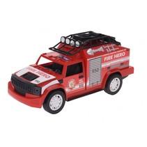 brandweerauto 30 cm rood