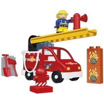 plus brandweer 20-delig multicolor