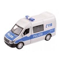 Super Cars politieauto met licht en geluid 1:32 zilver