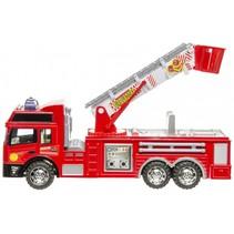 brandweerauto 31 cm rood