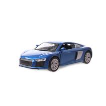 schaalmodel sportauto jongens 12 cm staal donkerblauw