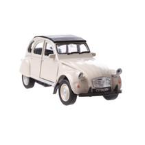 auto Citroën 2CV junior die-cast 11 cm beige