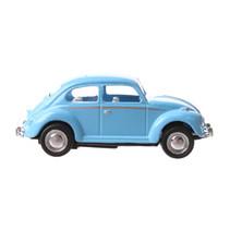 auto Volkswagen Beetle junior 6 cm die-cast blauw