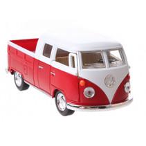 schaalmodel Volkswagen 1:34 die-cast 10 cm rood