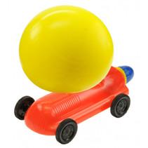 ballonracewagen rood/geel