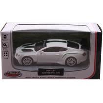 sportauto schaalmodel 1:43 8 cm Bentley wit