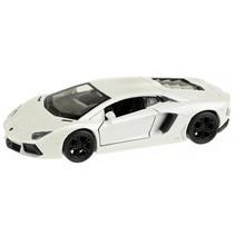 Lamborghini Aventador sportauto wit 10,5 cm