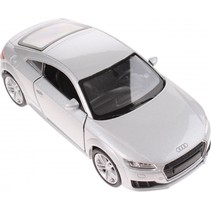 metalen Audi TT 2014 grijs 11 cm