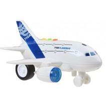 vliegtuig met licht en geluid 18,5 cm