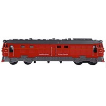 trein 7x18 cm rood