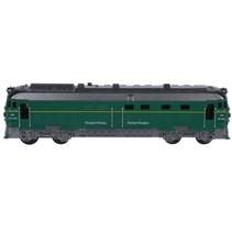 trein 7x18 cm groen