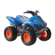 quad Beach Moto jongens 10 cm pull-back blauw