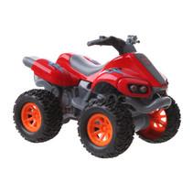 quad Beach Moto jongens 10 cm pull-back rood
