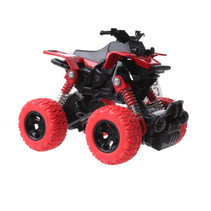 quad Big Wheels World jongens 12 cm die-cast rood