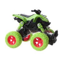 quad Big Wheels World jongens 12 cm die-cast groen