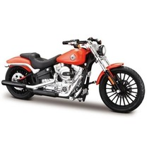 schaalmodel Harley Davidson 2016 Breakout 1:18 oranje
