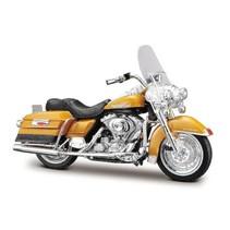 schaalmodel Harley Davidson 1999 Flhr Road King 1:18 goud