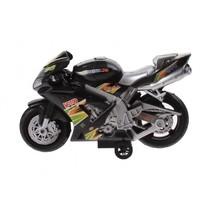 racemotor 20 cm zwart