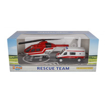 ambulanceset diecast 2-delig