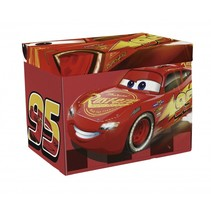 Cars 3 opbergbox/verkeerskleed 30 x 30 x 30 cm