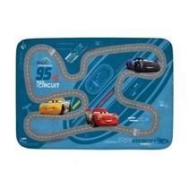 verkeerskleed Cars 70 x 95 cm blauw