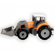 tractor jongens oranje 15 cm