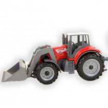 tractor jongens rood 15 cm