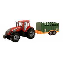 tractor met trailer frictie 42 cm