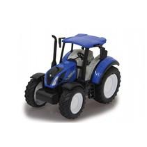 New Holland tractor 1:32 12,5 cm blauw