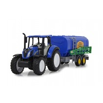 New Holland tractor met mestspreider 35 cm blauw