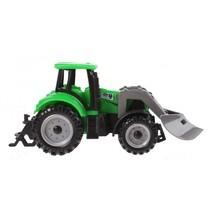 tractor met voorlader 13,5 cm groen