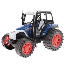 miniatuur Tractor blauw