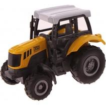 Tractor geel: 1:43