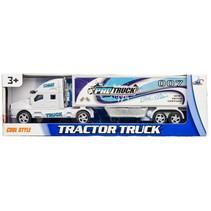 vrachtwagen Pro Street 28 cm wit/blauw