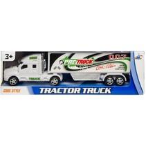 vrachtwagen Pro Street 28 cm wit/groen