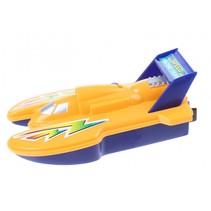 speedboot 15 cm geel