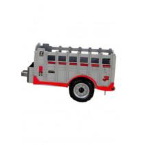 aanhanger tractor jongens rood 12x9,5x5,5