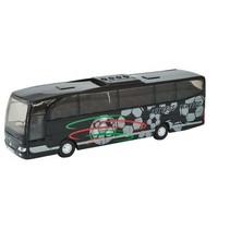 Metalen Bus Travego: 18 cm Zwart