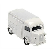 schaalmodel Citroen type H pull-back 1:38 wit
