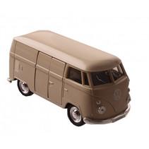 VW spijlbus 11,5 cm jongens aluminium beige