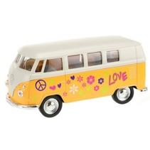 Welly Volkswagen bus geel 10,5 cm