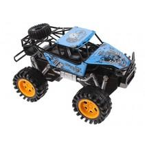 monstertruck Mad Runner Xspeed 22 cm blauw/zwart