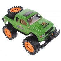 monstertruck 23 cm groen