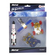 speelset ruimte raket en rover 16 cm