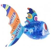 vis met verlichting blauw 15 cm