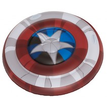 luchtbed Marvel Captain America 108 x 19 cm rood