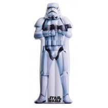 luchtbed Star Wars Stormtrooper 173x77 cm wit