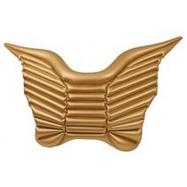 Opblaasbare vlinder 140 cm goud